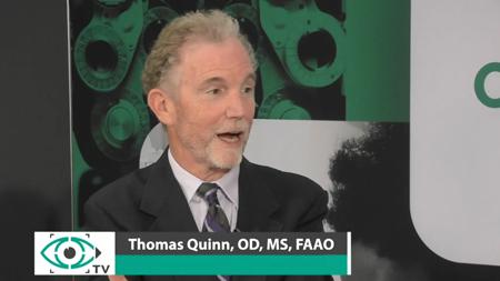 Thomas Quinn Corneal Toric GP Lens